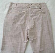 nwt~Oakley TELFAIR PLAID Pant Golf Ohydrolix UV Protection Trousers~Men sz 32/30