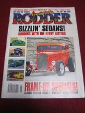 AMERICAN RODDER #72 - SIZZLIN' SEDANS - May 1995