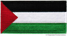 PALESTINE FLAG embroidered iron-on PATCH PALESTINIAN West Bank Gaza Fatah PLO