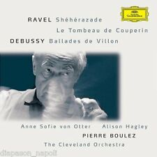 Ravel: Shèhérazade, Le tombeau de Couperin - Debussy: Ballades.. / Boulez, Otter