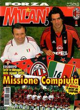 FORZA MILAN!=N°6 1999=MILAN CAMPIONE D'ITALIA PER LA SEDICESIMA VOLTA