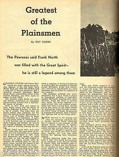 Major Frank North-Greatest Of The Plainsmen + Genealogy