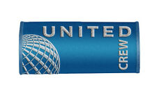 UNITED AIRLINES CREW Handle Wraps, CREW LUGGAGE TAGS-BLUE x2