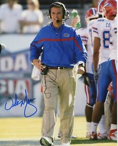 Urban Meyer Florida Gators OSU Buckeyes Ohio St signed 8x10 photo auto autograph