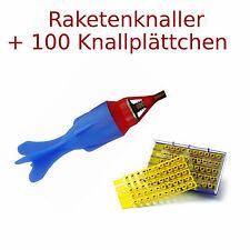 😊 1 x Raketenknaller Raketenkracher + 100 Amorces, Knall Rakete Kinder Knaller