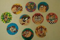 Walkers Tazos Looney Tunes - 90s Kids Collectables  TAZ only Doritos Set of 10 !