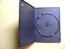 Boite de rangement pour 1 CD ou DVD boitier épais noir vide en plastique /T6