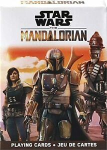 Playing Cards Star Wars The Mandalorian picture cards TV poker size NEW