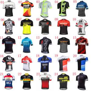 2021 New Men Cycling Jersey Bicycle Shirt Short Sleeve Bike Tops Racing Clothing