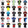 2019 New men cycling jersey MTB bike Shirt short sleeve Racing Wear bicycle tops