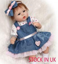 Soft Silicone Vinyl Real Life Reborn Baby dolls Newborn Baby Doll Xmas Gift