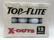 "New Box of 12 Top Flite System ""X-Outs"" Golf Balls Flight"