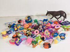 Eraser - Rubber - Large Assorted Collection - Bundle - Novelty