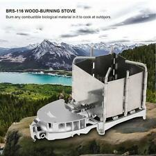 BRS Portable Palm-sized Camping Outdoor Wood-burning Stove Charcoal Burner N0V2