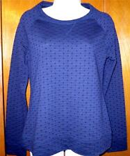 New without Tags S/P Navy Blue Merona Long Sleeved Navy Basic Top Free Shipping