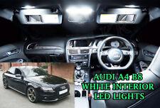 Audi A4 B8 A5 2012+ INTERIOR LED LIGHT BULBS FULL KIT SET- XENON 6000K WHITE