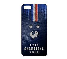 Coque rigide pour iPhone 5C France Champions du Monde Football 01