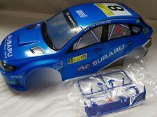 1/10 RC car 190mm on road drift rally Subaru STi  Body Shell Blue