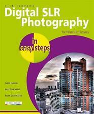 NEW BOOK Digital SLR Photography in Easy Steps by Nick Vandome