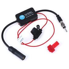 12V Auto Car Radio FM Antenna Signal Amplifier Booster Vehicle Boat 330mmLDUK*wk