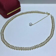 gorgeous handmake south sea white pearl necklace