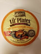 Merrick Lil' Plates Grain Free Thanksgiving Day Dinner Small Breed Wet Dog 12ct