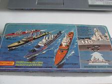 MATCHBOX Sea Kings K-302 corvette, in OVP;Zustand neuwertig siehe Bilder.