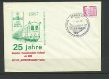 Germany  1987 Cover  with Model Railway Association Design and handstamp