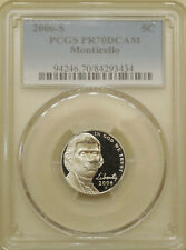 2006-S Jefferson nickel PCGS PR-70-DCAM proof deep cameo PERFECT