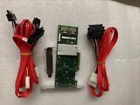Fujitsu D2616 SATA SAS Raid 6G 512M Raid  +2*SFF-8087 to SFF-8482