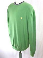 United Colours Of Benetton Pullover Sweater Green Sz XXL EUC