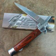 "Rite Edge Stiletto Large 10 3/4"" Stiletto Pocket Knife With Lock New 210661 -T"