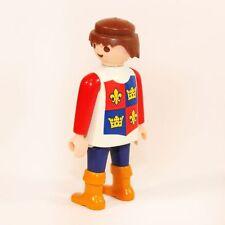 Playmobil Grundfigur rot Thronstaat 3659 3674 Figur Ritter Lilie Wappen Rücken