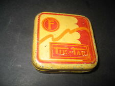 Antigua Caja Metal Cinta Maquina de Escribir TIK - TAK. Typewriter, Ruban