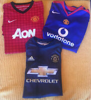 MIXED BUNDLE MANCHESTER UNITED Football Sport Shirts Soccer Jersey MUFC Youth