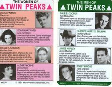 TWIN PEAKS THE MEN AND WOMEN PROMOTIONAL CARDS