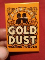Vintage Collectible Gold Dust Washing Powder Advertising 2 X3 Inch Pocket Mirror