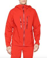 Mountain Hardwear Mens S M ThunderShadow Rain Jacket State Orange Shell