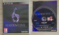 Resident Evil 6 Ps3 Perfetta 1a Edizione Italiana Con Manuale Spedizione in 48 H