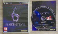Resident Evil 6 Ps3 Perfetta 1a Edizione Italiana Con Manuale