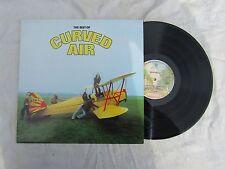 CURVED AIR LP THE BEST OF warners k36015 1st A1 / B1 near mint......33rpm / rock