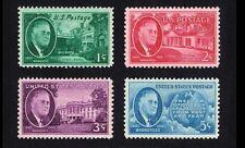 Roosevelt 1945 Memorial Set #930 - 933 Mint NH Complete. Great Promotional Set