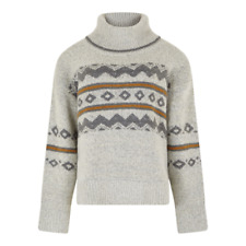 Weird Fish Womens Edie Fair Isle Pop Over