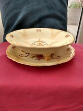 More details for ducal agr&co england  doric 18x  salad plate & strainer plate vintage rare item