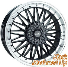 "OX688 17x7.5"" BLANK 32P Black Machine Lip Mag Wheel Rim for some Most Vehicles"