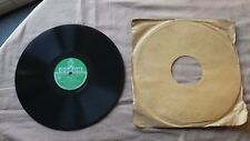 Record 78 RPM LOUIS ARMSTRONG Odeon 165 975 After You've Gone / St Louis Blues
