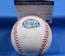 Chipper Jones Signed Mlb And Psa Dna Major League Baseball Autograph Braves
