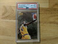1996 Skybox Premium Starting Lineup Kobe Bryant Rookie Card PSA NM-MT+ LOWPOP RC