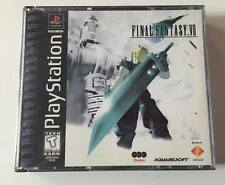 SONY PlayStation PS1 PSOne Final Fantasy VII 7 (BLACK LABEL VERSION & COMPLETE)
