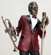 Jazz Band Collection - Singer / Trumpet Player Home Decor Statue Figurine